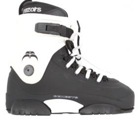 Razors Genesys Black/White Boot